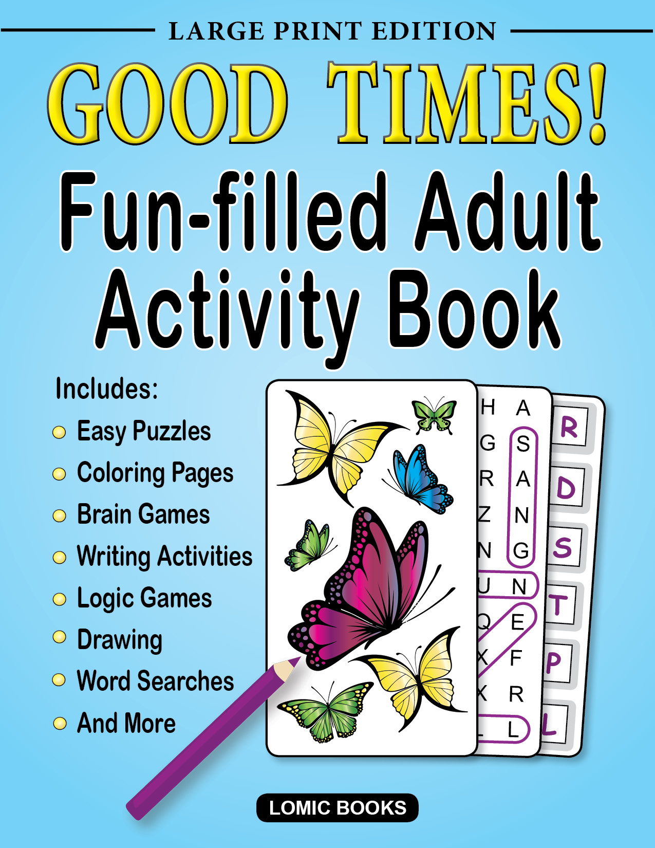 Adult Activity Books | Lomic Books